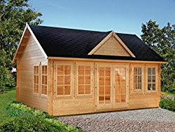 Allwood Kit Cabin Claudia - 209 sqft small log cabin kit