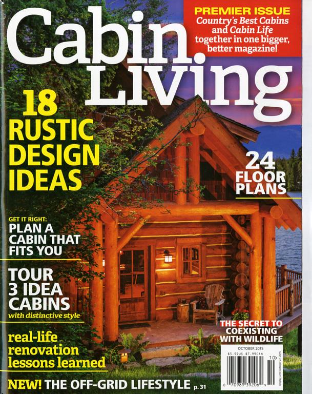 Cabin Living magazine