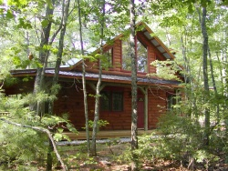 Log Cabin Rentals - Cabin in Woods