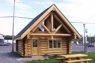 Montana log cabin 2