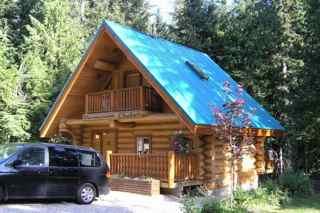 Montana log cabin 3