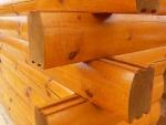 Log Cabin Home Design -- Milled Log Corner