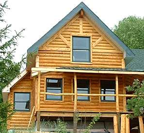 Sips or structural insulated panels for 5 structural types of log homes