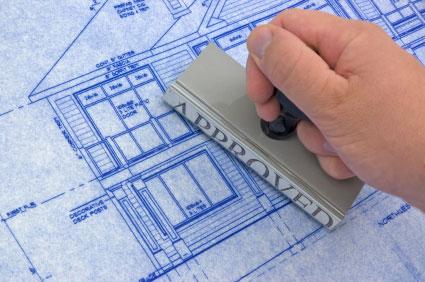 Building inspectors approve your plans.