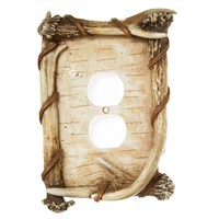 birch outlet cover
