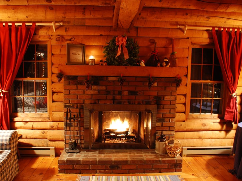 Your cabin fireplace guide for Log cabin fireplace designs
