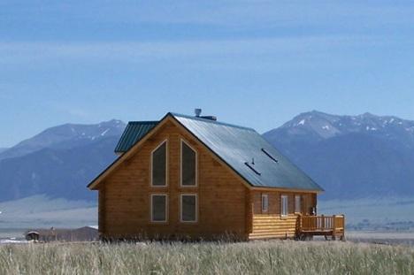 Montana log cabin 4