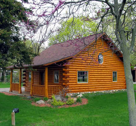 Cheap Log Home Kits - cabin