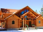 Prepare for Log Home Package - cabin kit picture