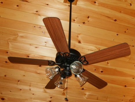 Cabins on Ceiling Fans For Log Homes