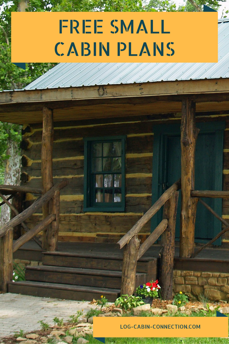 Free small cabin plans for Small log cabin plans