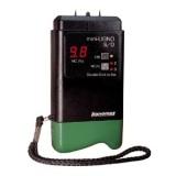 cabin repair - lignomate moisture meter