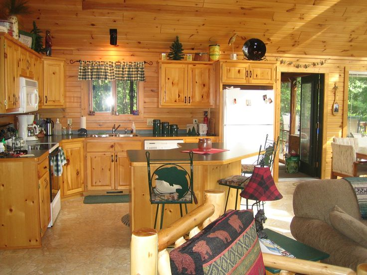 log cabin design tips - Cabin Interior Design Photos