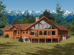 Log cabin kit prices for Large cabin kits