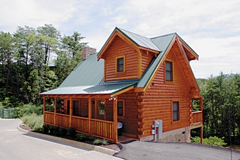 Free Log Home Plans - log cabin 7