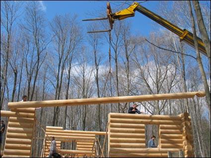 Log Cabin Kit For Sale - Build