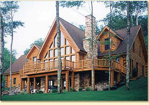 Log Cabin Kits - log home