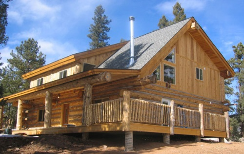 Log home building school for Custom build your own home