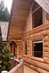 Save Money on your Log Cabin - log home