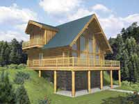 Log Home Design Software - log home plans online ePlans.com
