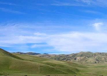 Blue skies over public lands.