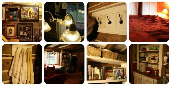 Interior decorations and furniture.