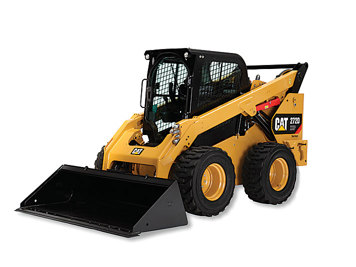 Small excavator or skid steer.