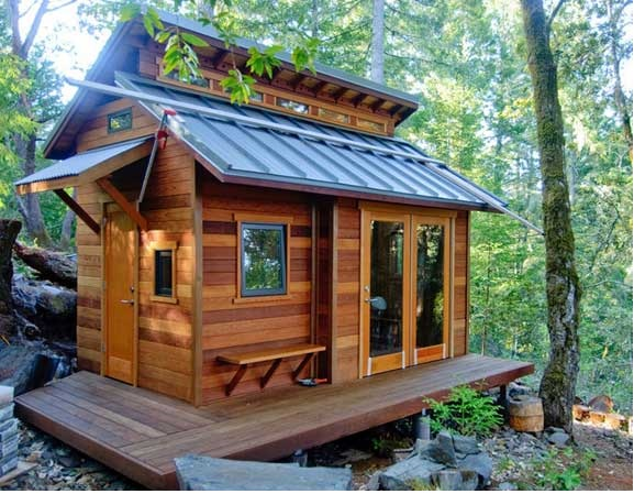 The small cabin lifestyle for Building a small cabin in the woods