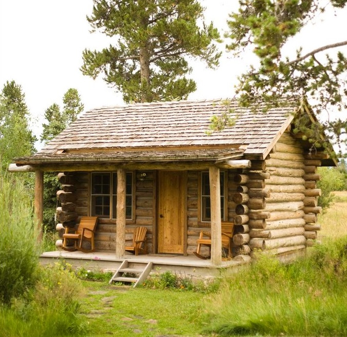 Small cabin heating off the grid can be a challenge.