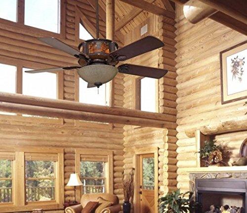 Log Home Lighting: Ceiling Fans For Log Homes
