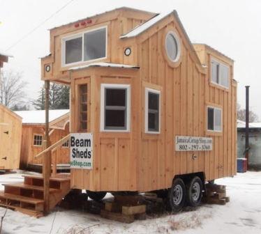 Log Cabin Mobile Home built by Jamaica Cottage Shop - https://jamaicacottageshop.com/shop/the-charlavail/?affiliates=183