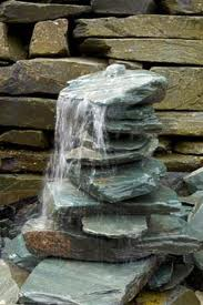 water feature - waterfall